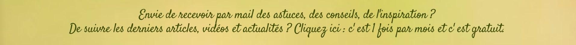 Quotidien Magique Infolettre