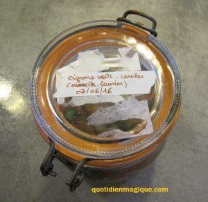 bocal légumes fermentés