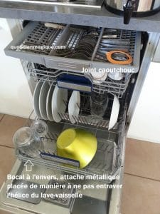 bocal joint lave-vaisselle