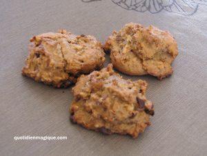 Cookies véganes zéro déchet