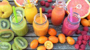 fruits alimentation vivante