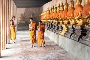 5 rites tibétains moines